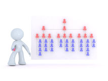 Rebuilding the org chart royalty free illustration