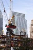 Rebuilding the World Trade Center Royalty Free Stock Photo