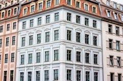 Rebuilt buildings in Dresden. Historic rebuilt baroque buildings in Dresden, Germany Stock Photography