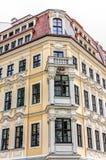 Rebuilt buildings in Dresden. Historic rebuilt baroque buildings in Dresden, Germany Stock Images