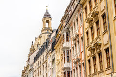 Rebuilt buildings in Dresden Royalty Free Stock Photography