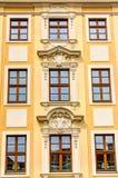 Rebuilt buildings in Dresden. Historic rebuilt baroque buildings in Dresden, Germany Royalty Free Stock Images