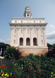 Rebuilt Mormon Temple in Nauvoo, Illinois Stock Photography