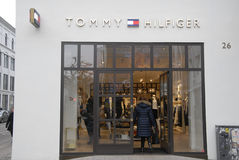 REBUILT TOMMY HILFIGER STORE Royalty Free Stock Images