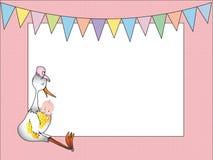 Recém-nascido ilustração royalty free