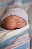 Recém-nascido no sono profundo Imagem de Stock Royalty Free