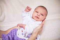 Recém-nascido no terno novo Foto de Stock