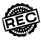 Rec rubber stamp Royalty Free Stock Photo