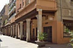 Rec street. Rec street in the neighborhood of la Ribera, Barcelona Royalty Free Stock Photo