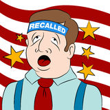Recalled Politician Royalty Free Stock Photos