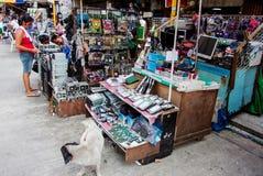 Recambios del ordenador en la calle imágenes de archivo libres de regalías