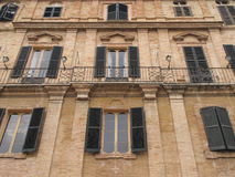 Recanati royalty free stock photography