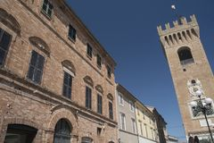 Recanati Macerata, Marches, Italy Royalty Free Stock Photos