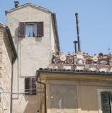 Recanati Macerata, Marches, Italy Stock Photography