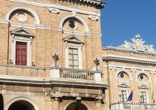 Recanati (Marches, Italy) Royalty Free Stock Photo