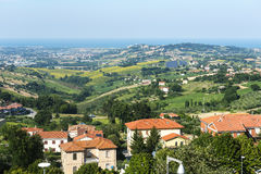 Recanati (Marches, Italy) Royalty Free Stock Image