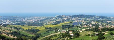 Recanati (Marches, Italy) Stock Images