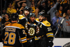 Recchi, Chara, Krejci and Bergeron Royalty Free Stock Image