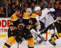 Recchi, Marchand and Bergeron Stock Photography