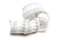 Receipt Stock Images