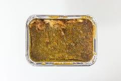 Receita tailandesa da sobremesa do creme do feijão de Mung imagens de stock royalty free