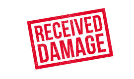 Received Damage rubber stamp Stock Images