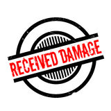 Received Damage rubber stamp Royalty Free Stock Images
