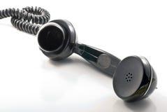 Receiver. (telephone tube) over white Stock Image