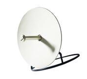 Receiver.Satelite dish isolated Stock Photo