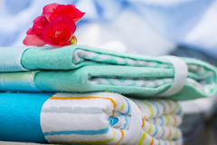 Receiving Blanket Royalty Free Stock Image