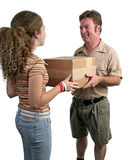Receiving Delivery 1 Stock Photography