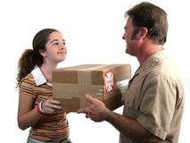Receiving Delivery 2 Stock Photos