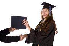 Receiving Diploma Royalty Free Stock Photos