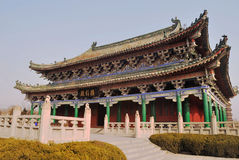 Receiving Hall of a temple Stock Photos