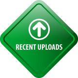 Recent uploadt Webknoop royalty-vrije illustratie