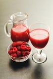 Recentemente a casa fez a açúcar o suco orgânico livre Foto de Stock Royalty Free