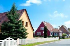Recentemente configurazione residenziale Fotografie Stock
