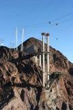 Recentemente represa de Hoover do brigde da configuração Foto de Stock Royalty Free