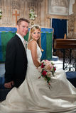 Recentemente wed le coppie Immagini Stock