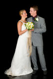 Recentemente wed le coppie Immagine Stock