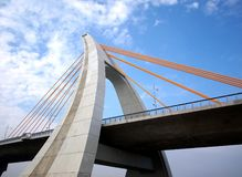 Recently Completed Cable-Stayed Stock Photos