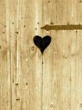 Recepção afetuosa - porta do coração Fotografia de Stock