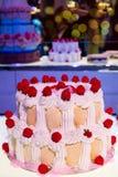 Recepção do bolo Imagens de Stock Royalty Free