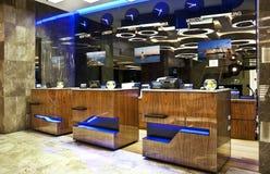 Recepção do hotel imagens de stock royalty free