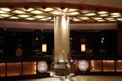 A recepção do hotel imagens de stock royalty free