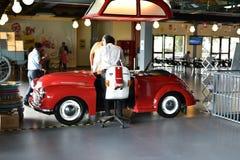 Recepção do museu do transporte da herança em Gurgaon, Índia de Haryana imagens de stock