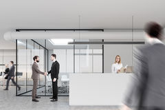 Recepção e sala de reunião, pessoa Fotografia de Stock