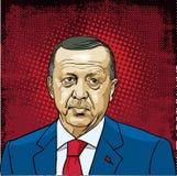 Recep Tayyip Erdogan Photos libres de droits