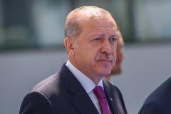 Recep Tayyip Erdogan president av Turkiet fotografering för bildbyråer