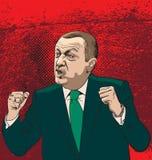 Recep tayyip erdogan Royalty Free Stock Image